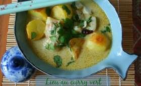 Lieu au curry vert