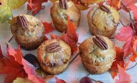 Muffins noix de pécan chocolat blanc