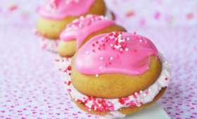 Whoopies vanille fraise