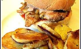 Hamburger aux aiguillettes de canard
