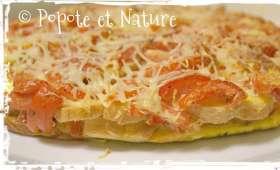 tarte aux tomates et ....au pain !