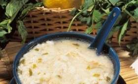 Soupe Zatchu au cheddar fort