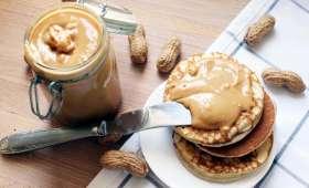 Beurre de cacahuète crunchy maison