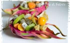 Salade de fruits exotique au fruit du dragon