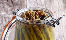Asperges vertes en pickles