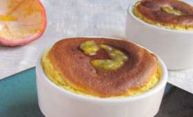 Soufflés au fruit de la passion