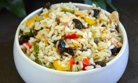 Salade de riz à la méridionale