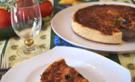La quiche au thon à la provençale