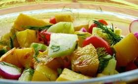 Salade de pommes de terre à la vinaigrette au Miso et au citron