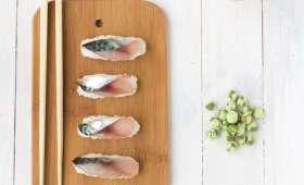 Sushis de maquereau