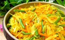 Achards de légumes réunionais