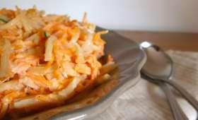 Rémoulade de carottes et céleri rave version légère