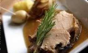 Rouelle de porc braisée
