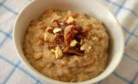Porridge d'automne