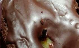 Gâteau Poire, Amandes et chocolat