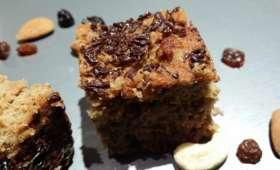Gâteau poire et amandes