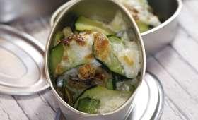 Petits gratins de sardines aux courgettes et citron confit