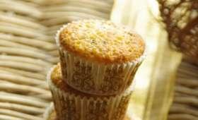 Minis muffins aux écorces de citron et graines de pavot