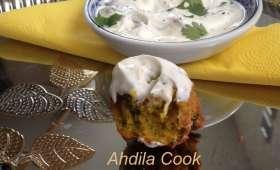 Beignets d'oignons à l'indienne