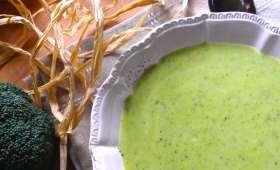 Velouté de brocoli et courgette