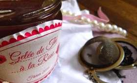 Gelée de thé à la rose