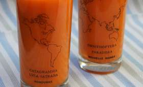 Smoothie carotte-orange-gingembre
