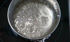 Degrés de cuisson du sucre