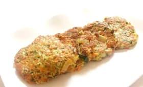 Beignets de légumes à la chapelure