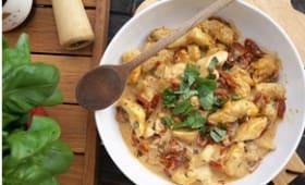 Poulet crémeux aux tomates séchées parmesan basilic