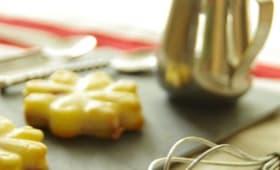 Minis gâteaux magiques au citron et fraises