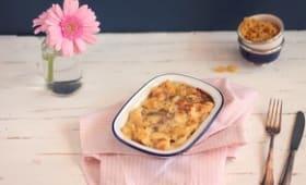 Gratins de Pâtes aux Lardons
