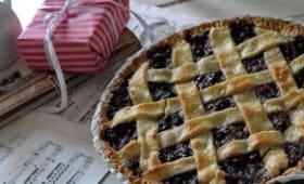 Blueberry pie:TARTE AUX MYRTILLES