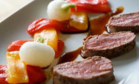 Filet d'agneau basse température à la plancha