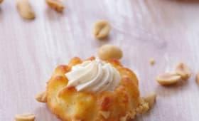 Crousti-moelleux à la cacahuète