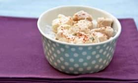 Mérou mariné au yaourt