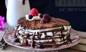 Pancakes moelleux au chocolat