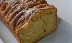 Cake aux pommes à la vanille