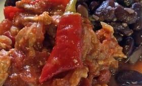 Chili con carne, avec du fermenté dedans