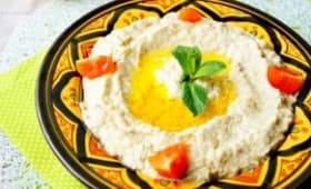 Caviar d'Aubergine à la libanaise