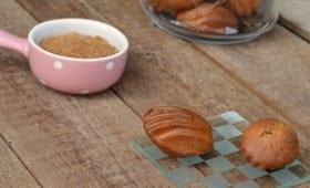 Mini madeleines au sucre de coco