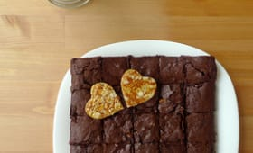 Brownie à la nougatine
