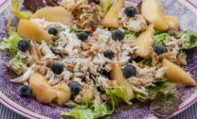 Salade d'araignée aux fruits d'été