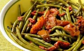 Haricots verts à la provençale