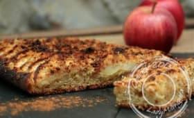 Tarte crumb-levée aux pommes