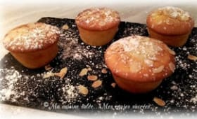 Muffins orange cannelle vanille