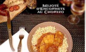 Mijoté d'encornets au chorizo pour se rechauffer