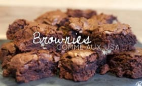 Brownies comme aux USA