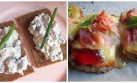 Tartines Gourmandes à la finlandaise et à la bourguignonne