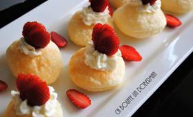Tartelettes feuilletées mascarpone et fraises