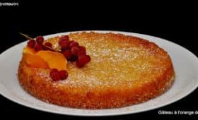 Le gâteau à l'orange d'après Jean-François Piège